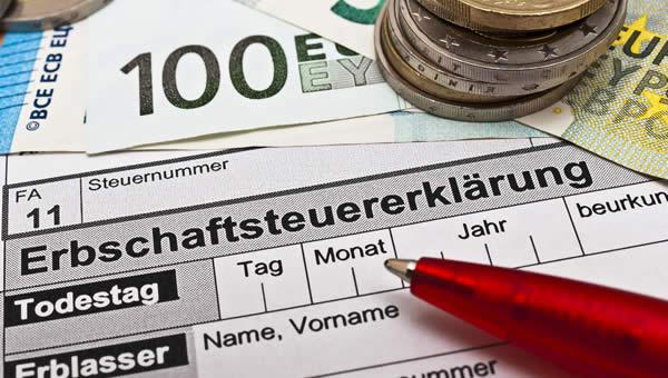 Erbschaftsteuererklärung
